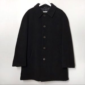 Italian Wool Cashmere Men's Overcoat Mario Rinaldi